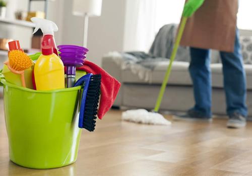 Maid and maintenance.