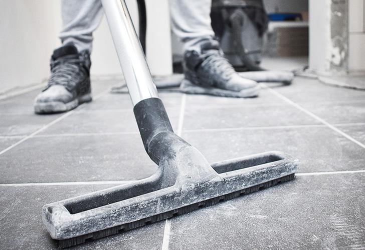 Nettoyage de fin de travaux