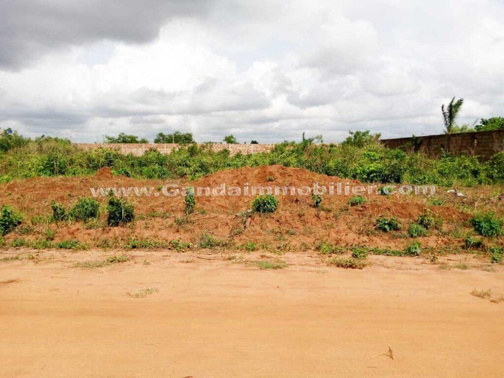 Terrain de 2000m² à Adjagbo calavi