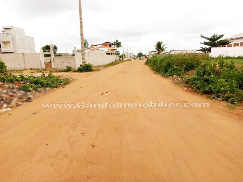 Terrain à vendre à Calavi Akassato
