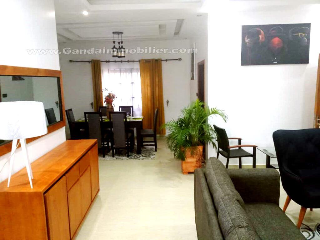 Appartement meublé et climatisé tout confort à Fidjrossè cotonou