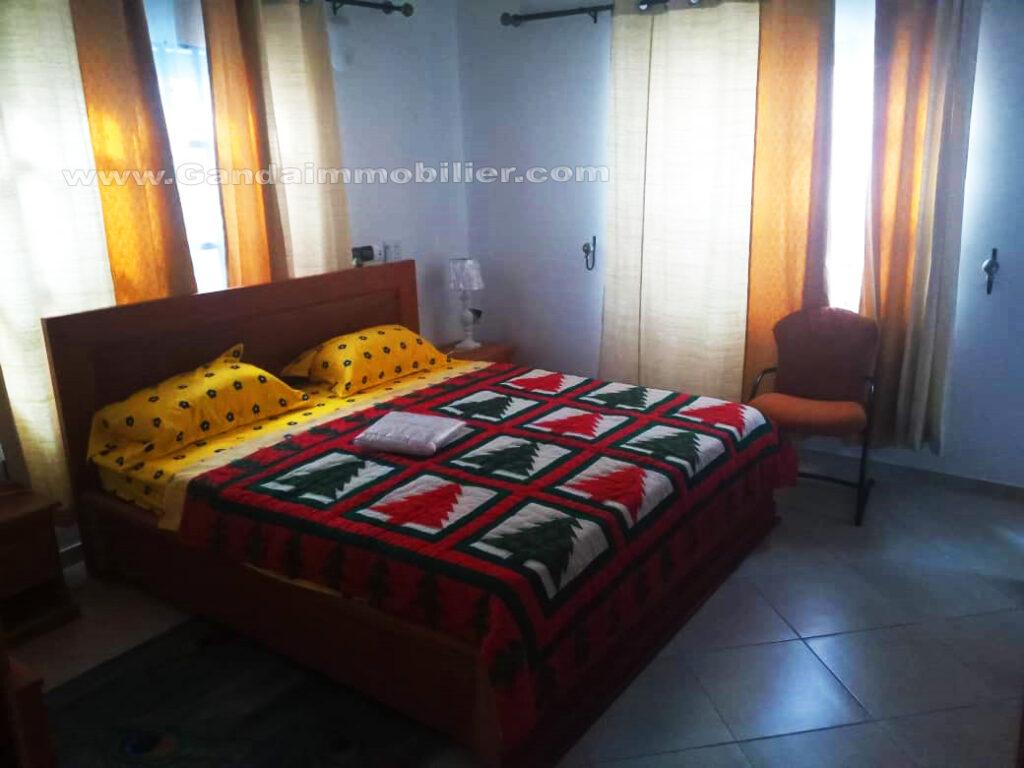 Chambre climatisée à fidjrossè Cotonou