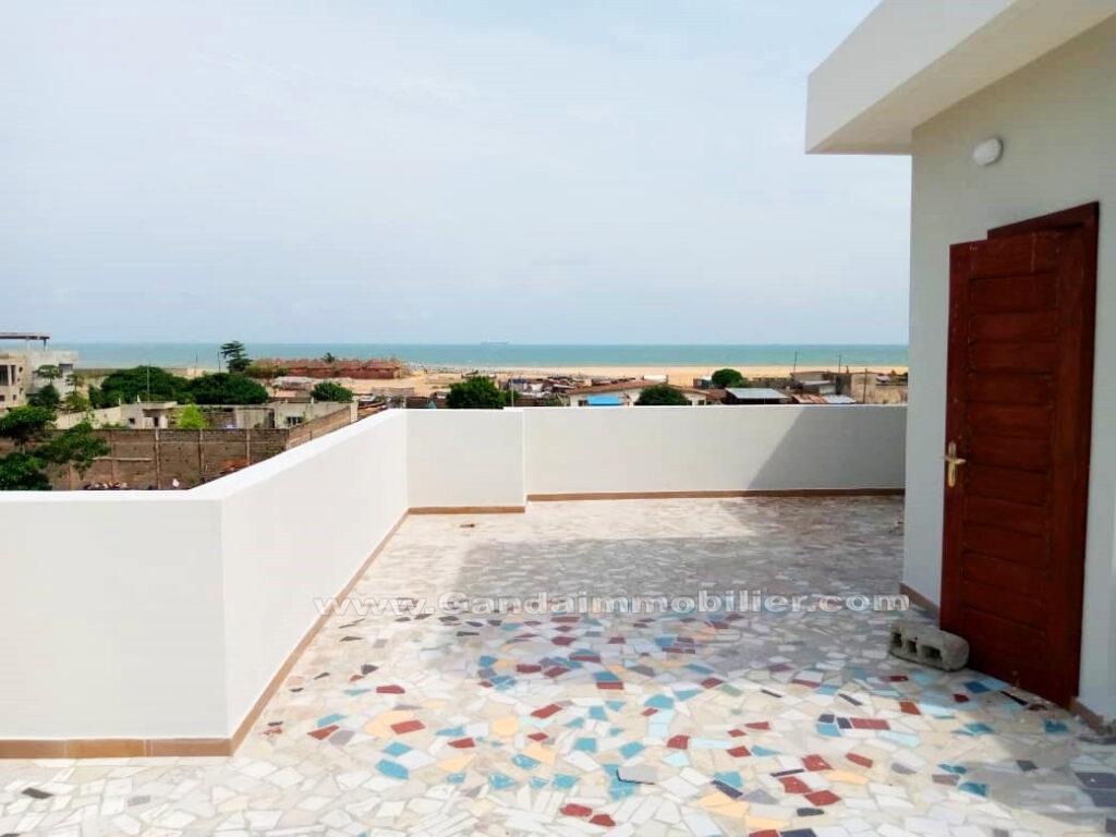 Villa luxueuse avec vue sur mer à Akpakpa Cotonou