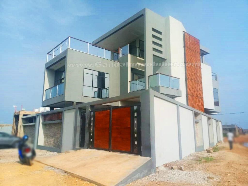Villa luxe et moderne avec vue sur mer à Akpakpa