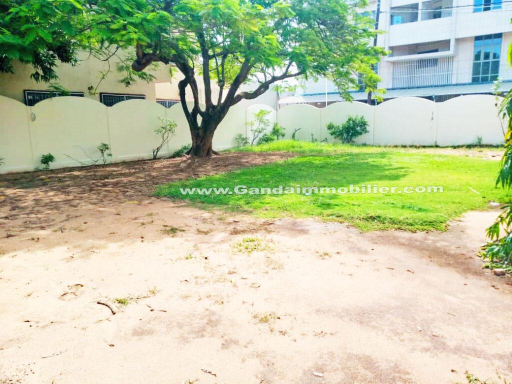 Espace jardin, villa CENSAD de Cotonou