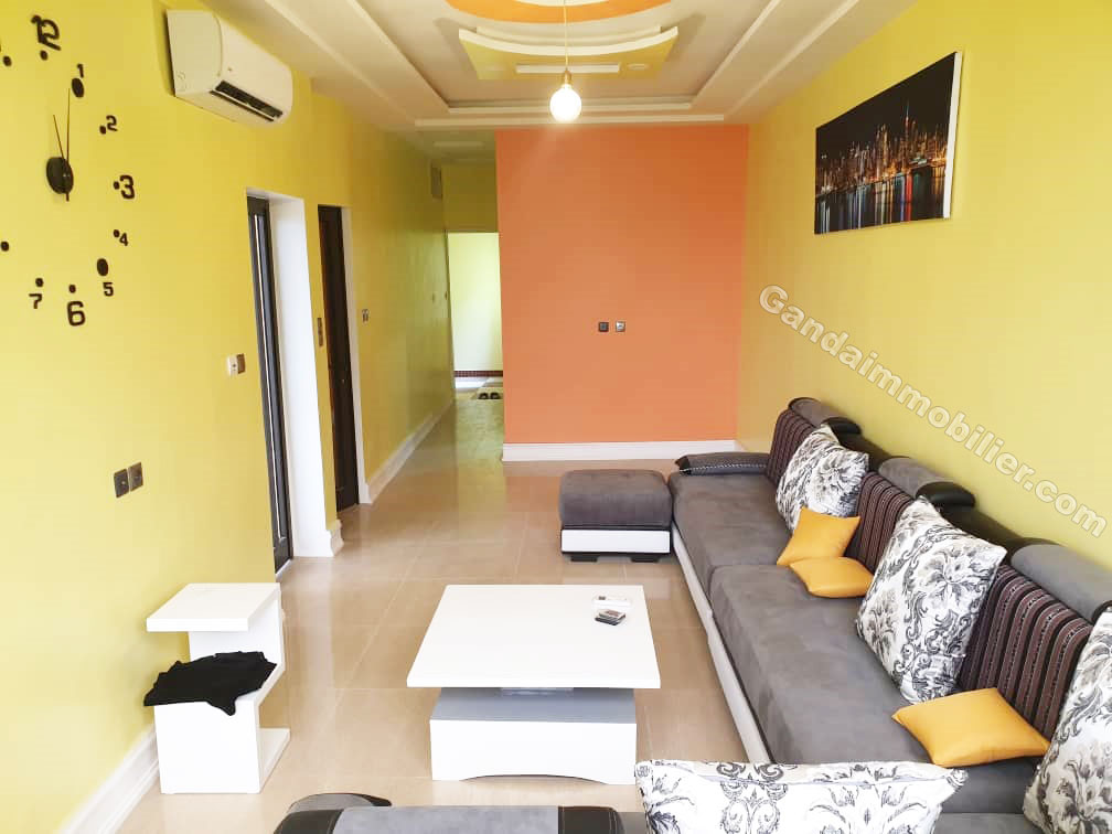 Appartement meublé 01 chambre salon à Fidjrossè