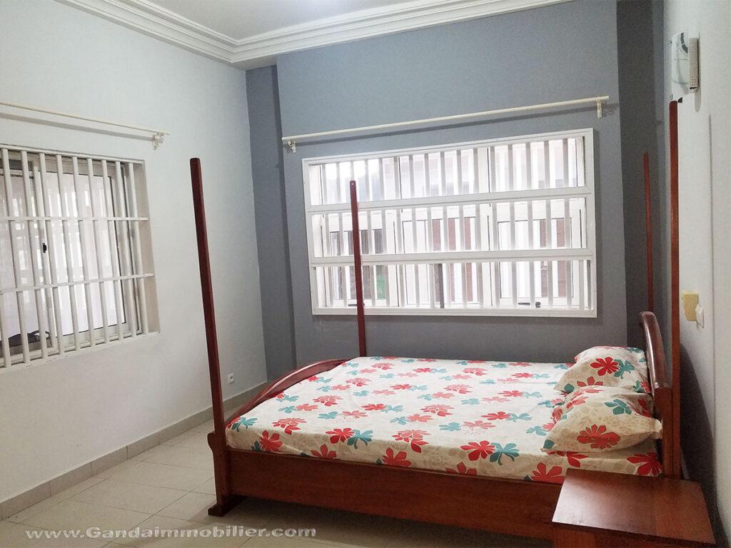Chambre meublée villa à Cotonou