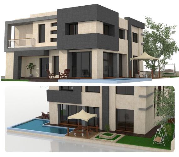 Modèle de villa à construire pour la diaspora au Bénin