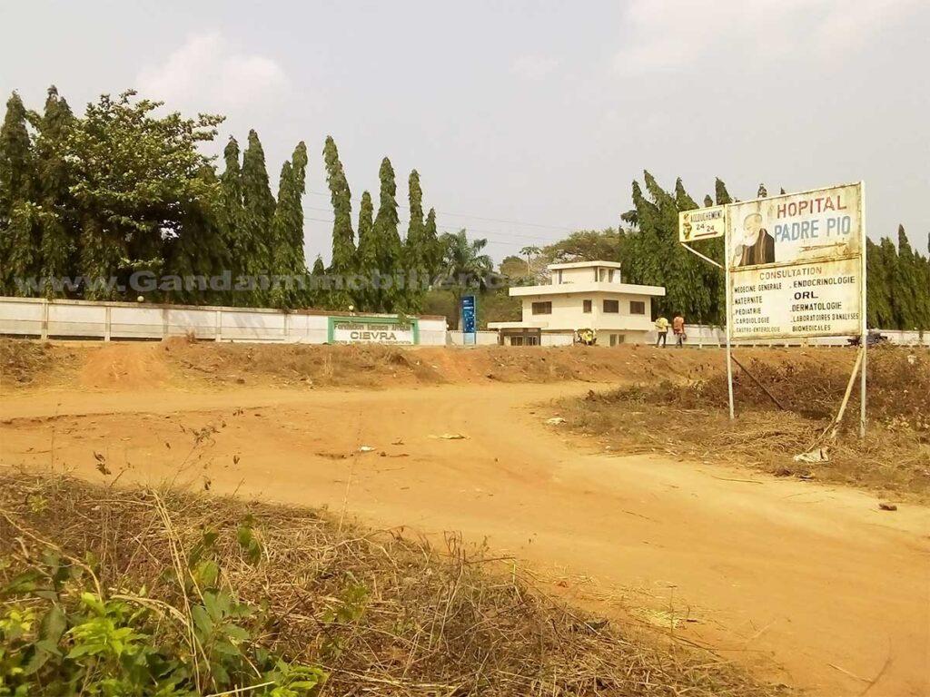 Terrain avec titre foncier non loin du goudron à vendre à Glo djigbé