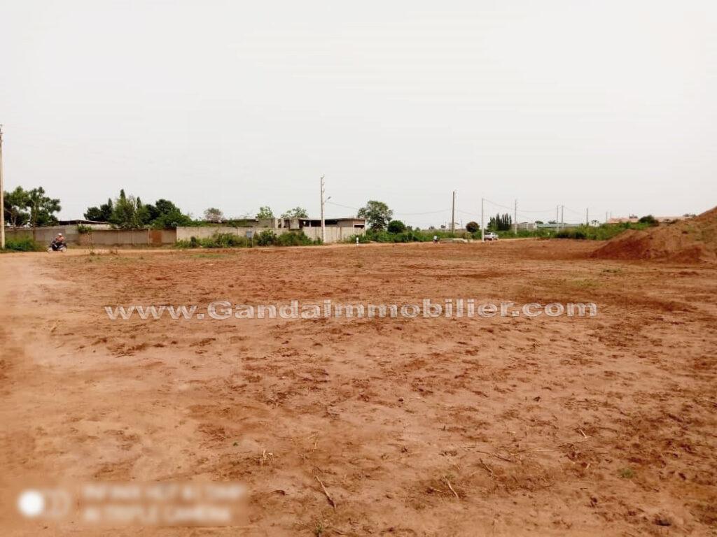 Des terrains à vendre à calavi adjagbo non loin du marché de gros