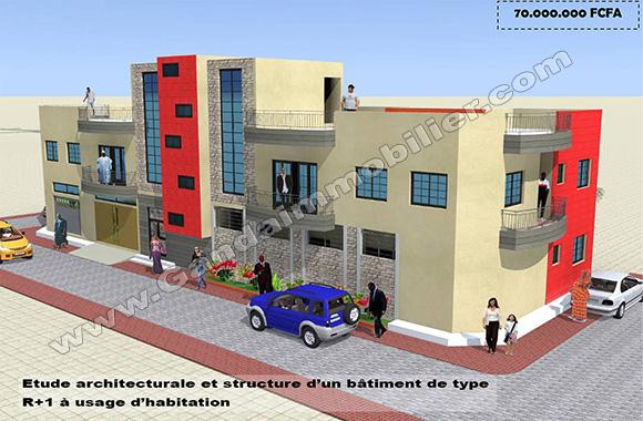 Construire une maison locative au Bénin