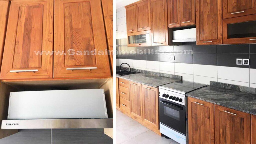 cuisine aménagé, appartement à louer à la haie vive