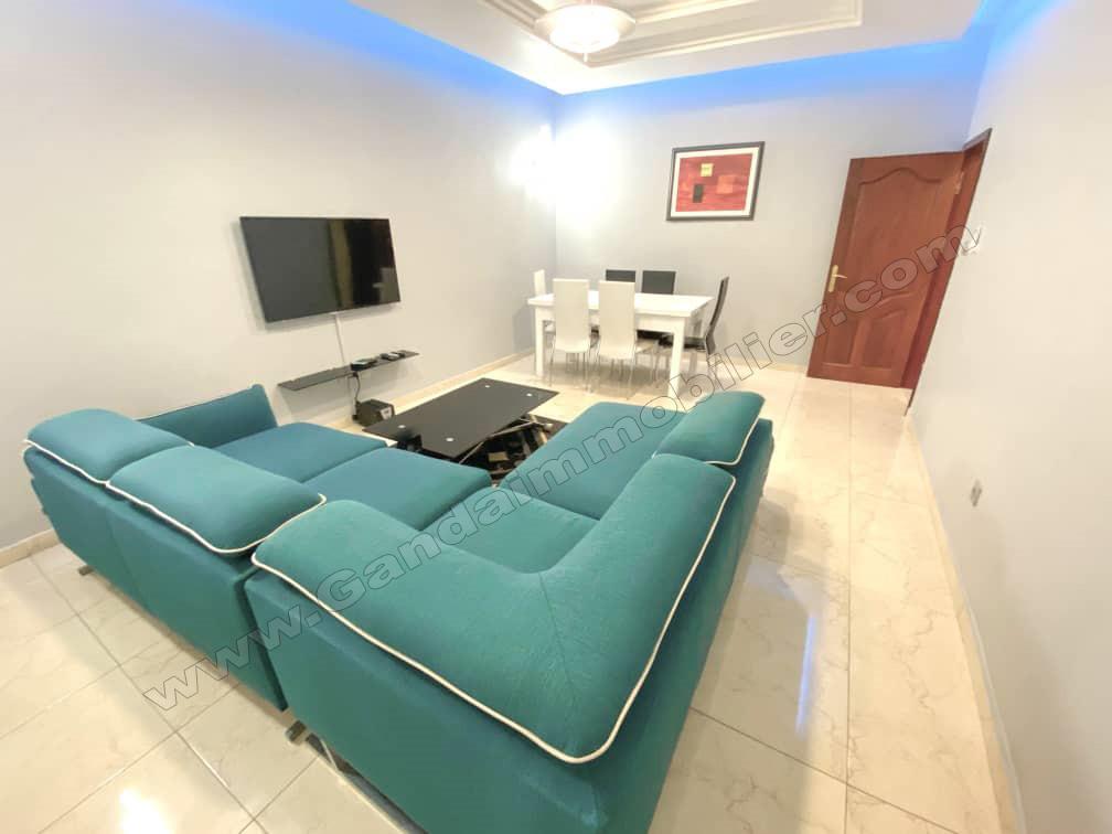 appartement meublé de standing à louer