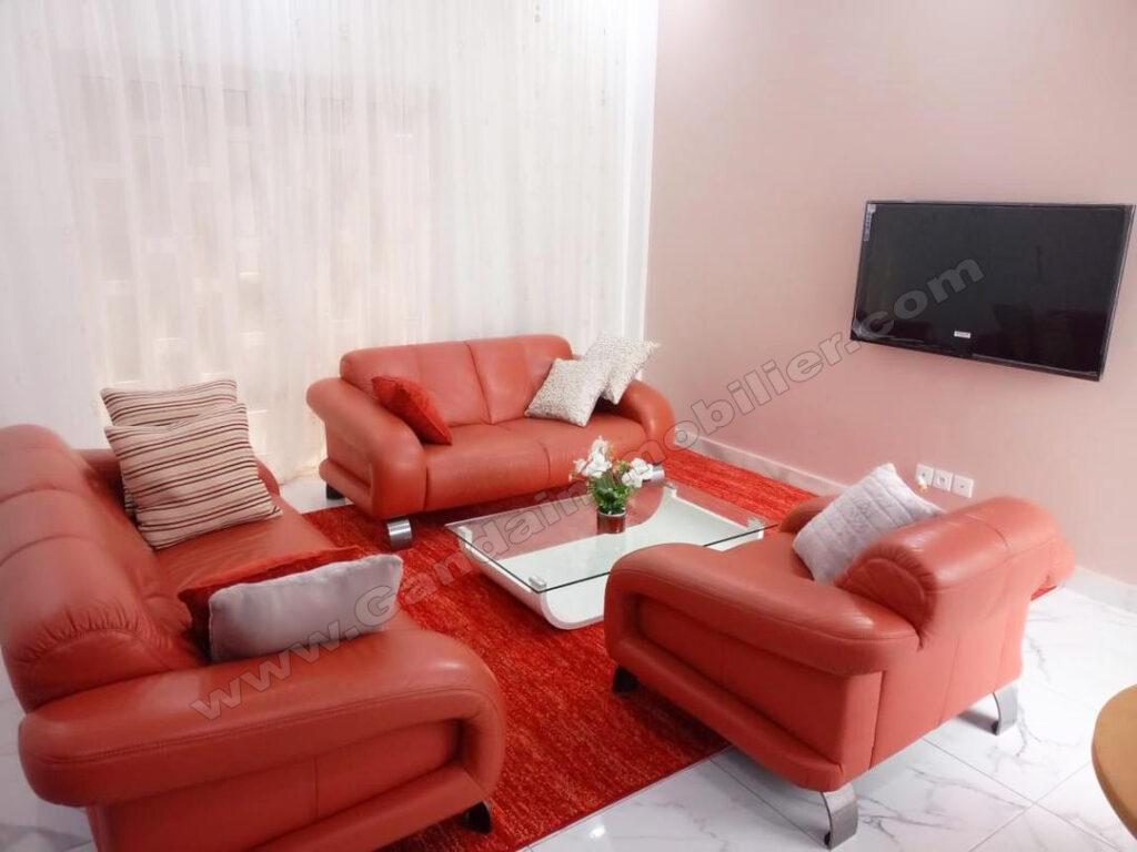 appartement meublé de 02 pièces à vedoko cotonou