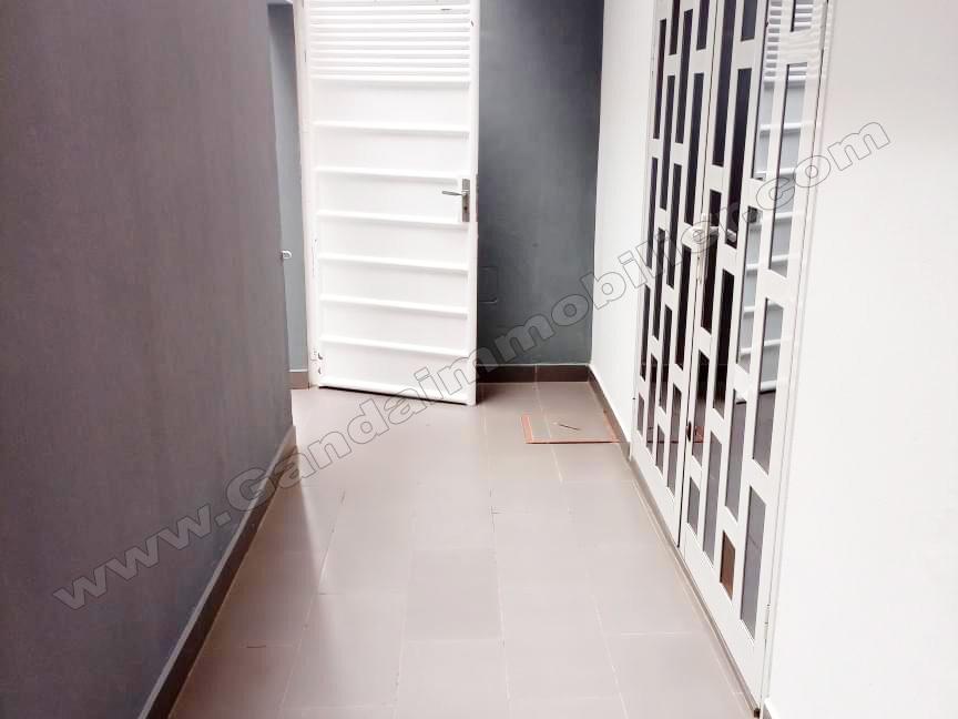 appartement meublé avec entrée personnelle à cotonou