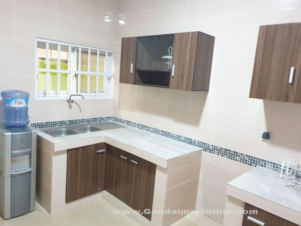 Appartement de 04pièce disponible à Fidrossè Cotonou