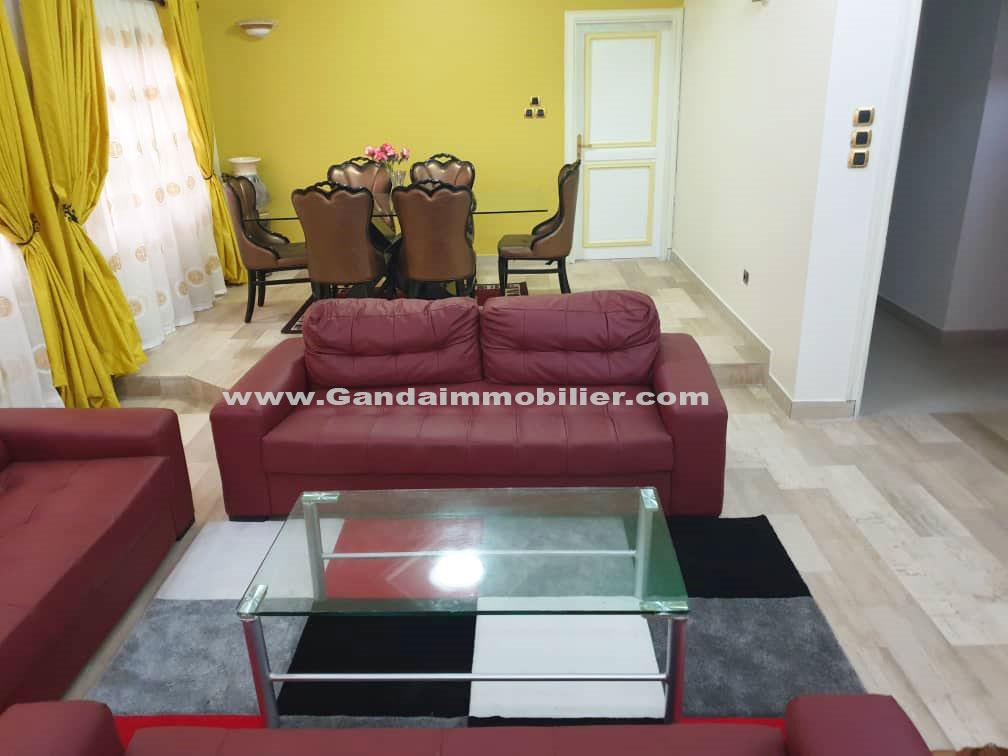 Belle appartement meublé mis en location à Cotonou, Fidjrossè
