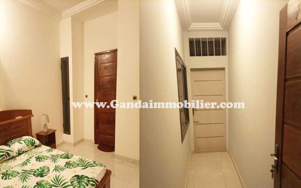 Nous louons un appartement meublé à Fidjrossè-calvaire
