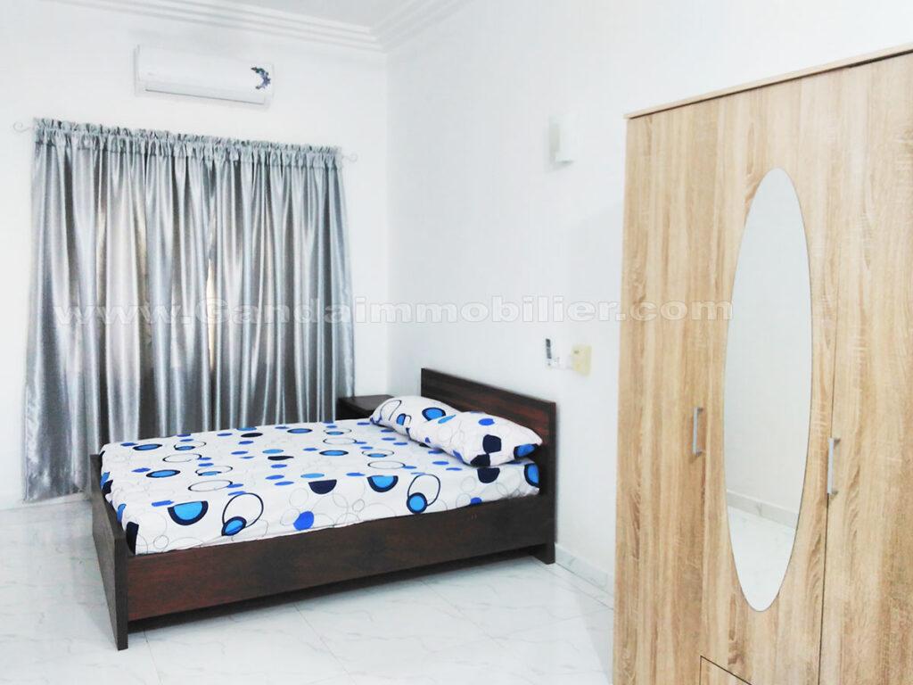 appartement meublé nouvelle construction à Fidjrossè
